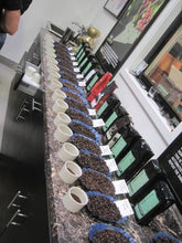 Coffee Cupping of Decaf French Roast Coffee