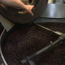 Jamaica Mountain Blue Coffee being roasted