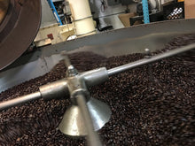 Reserve Coffee in the Coffee roaster