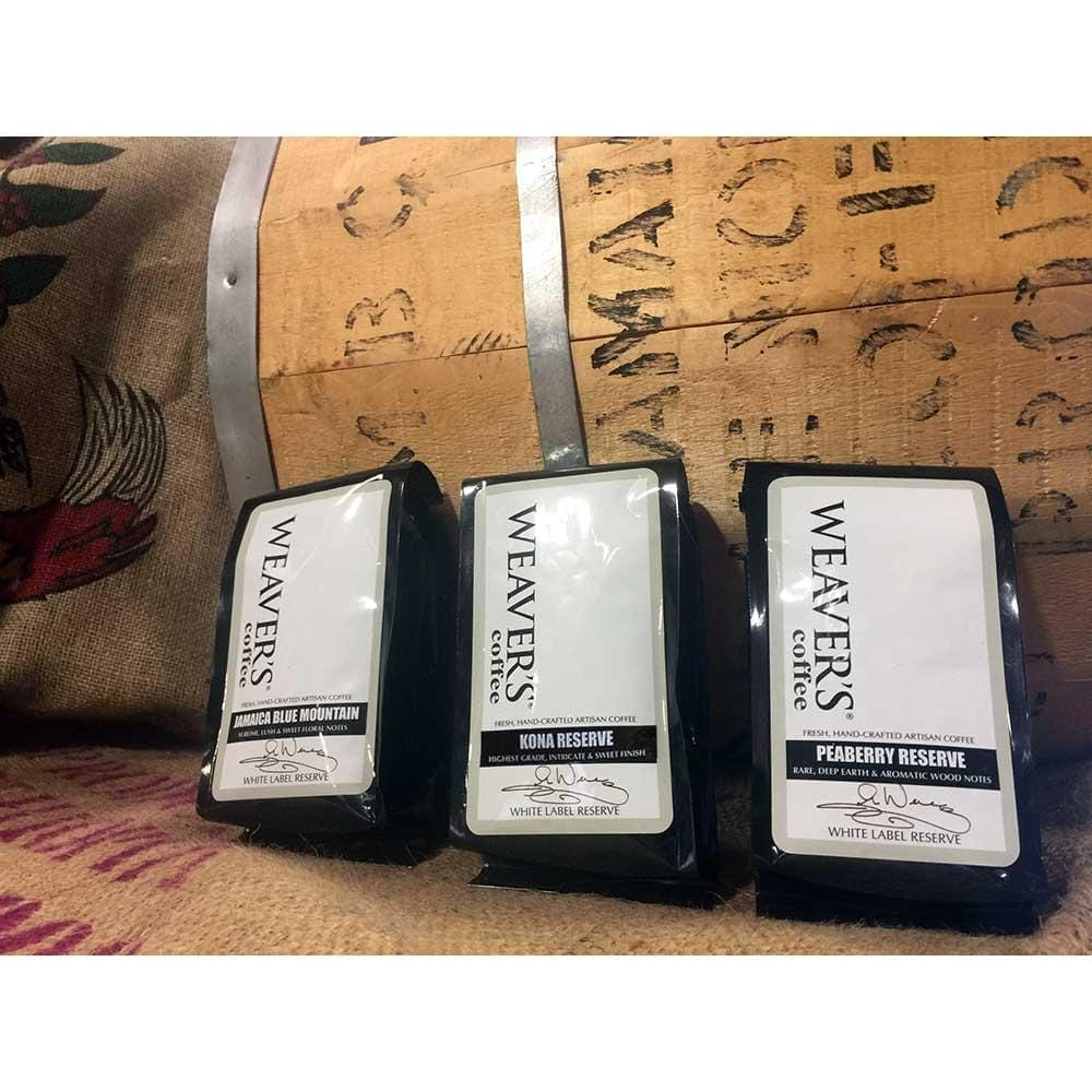 weaverscoffee.com Gift of Reserve Coffee - White Label Reserve Coffee - The Trifecta