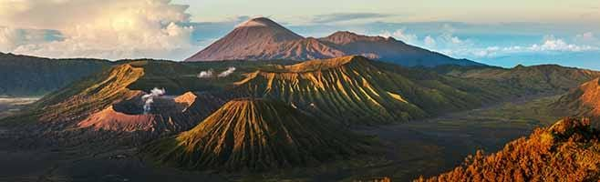 Mountains in Java