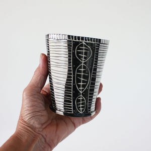 8oz Tumbler with hand