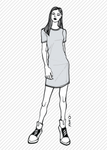 ALICE the T-shirt dress - PDF sewing pattern