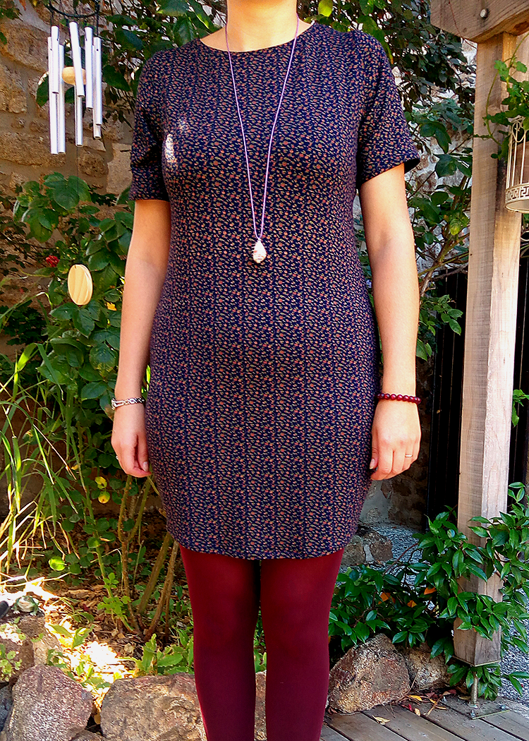 ALICE the T-shirt dress - PDF sewing pattern by Kommatia Patterns