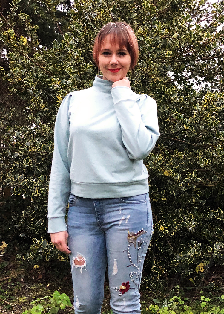 ALPINE the sweater - PDF sewing pattern by Kommatia Patterns