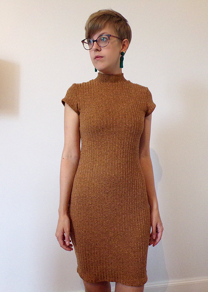 BEATNIK the bodycon dress - PDF sewing pattern by Kommatia Patterns