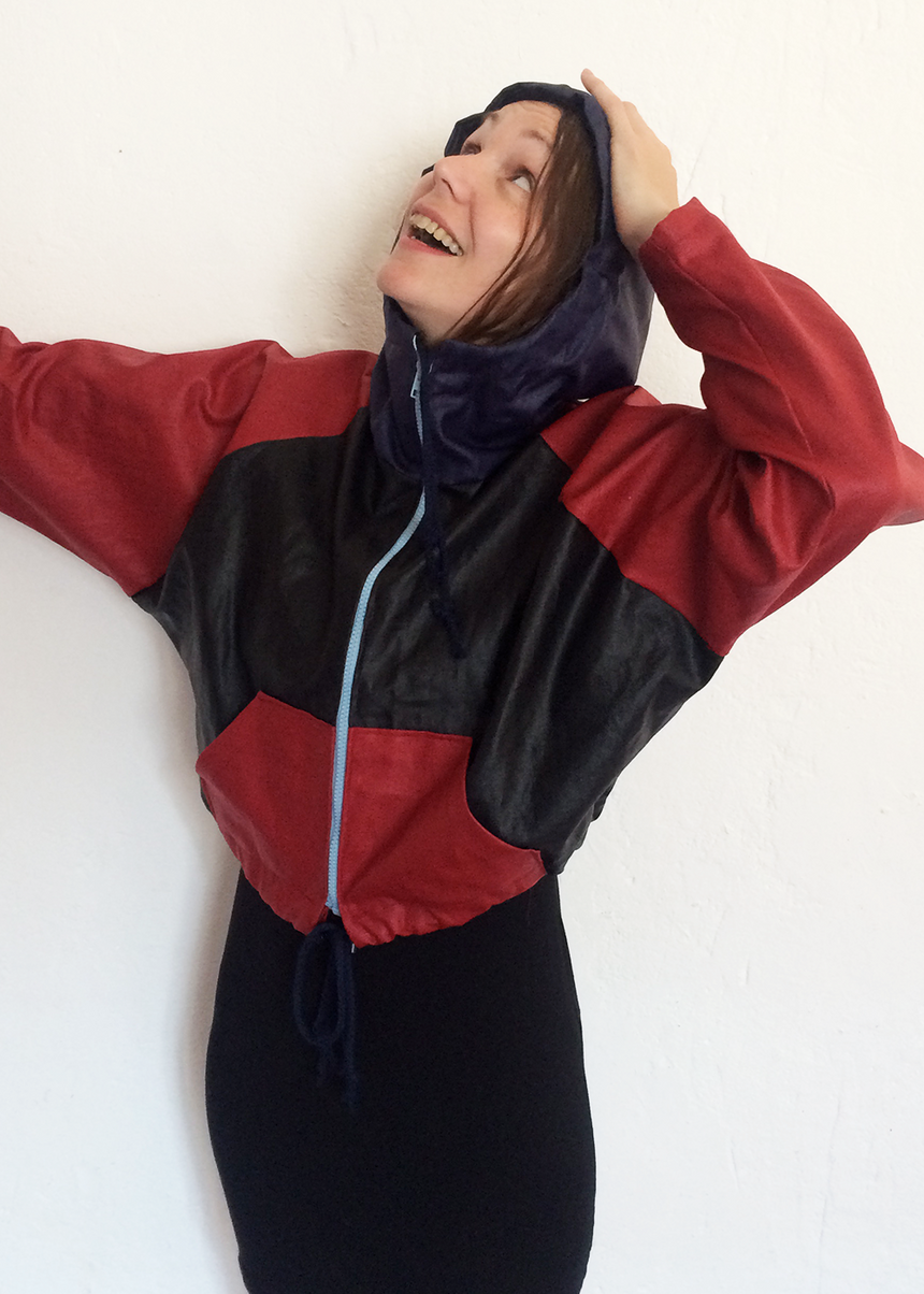 BORÉALE the windbreaker - PDF sewing pattern by Kommatia Patterns