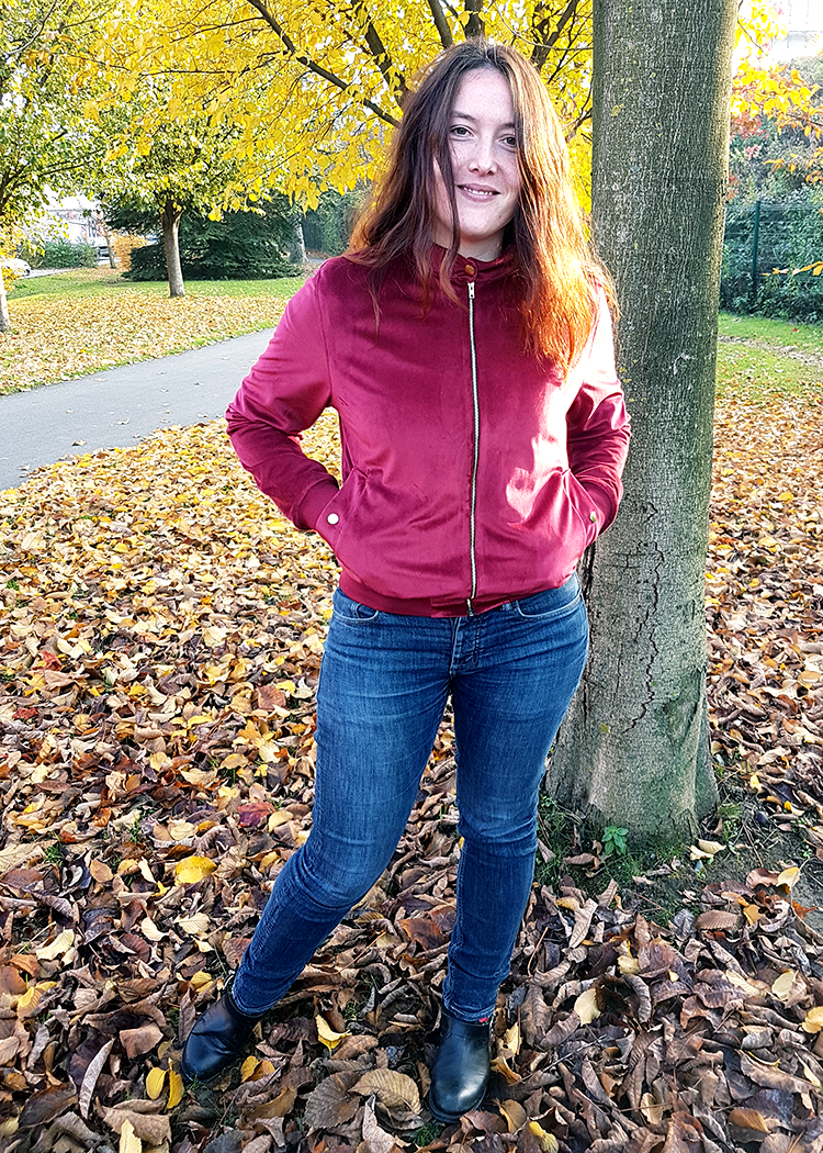 BRUGES the bomber jacket - PDF sewing pattern by Kommatia Patterns