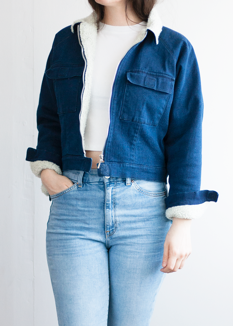 CHARLIE the cropped jacket - PDF sewing pattern by Kommatia Patterns