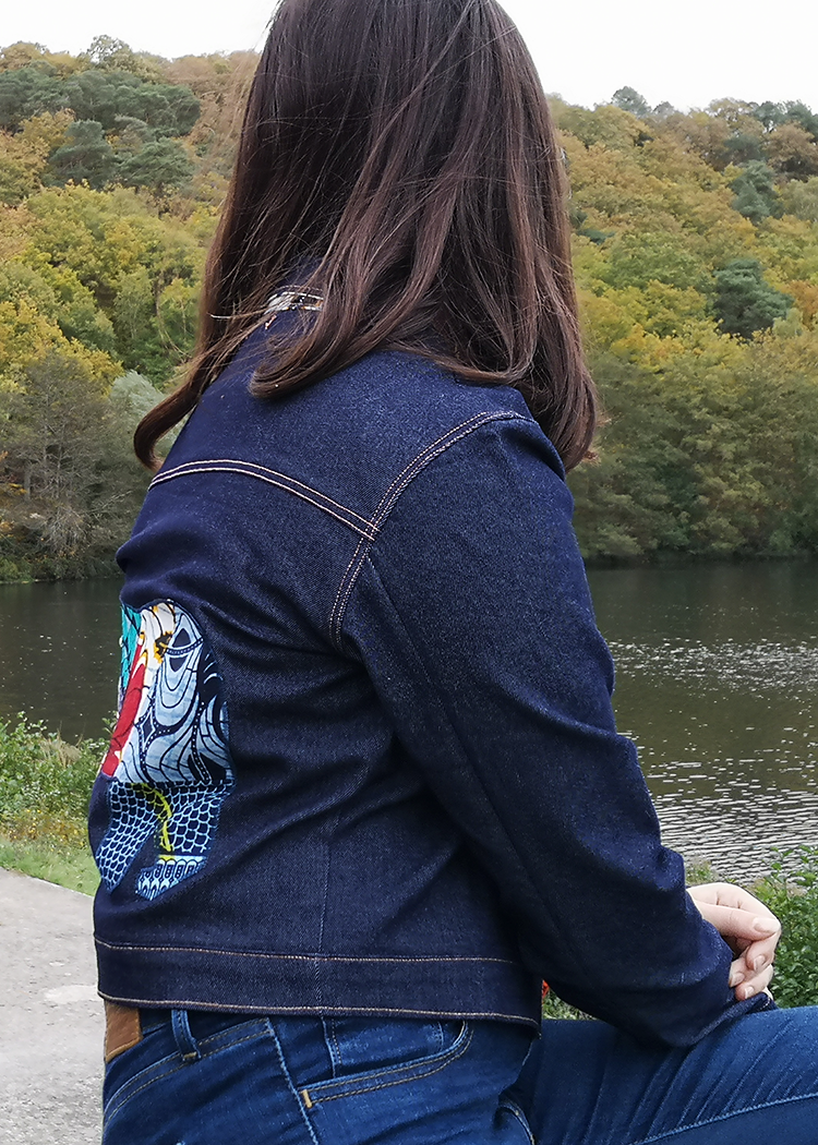 COBALT the denim jacket - PDF sewing pattern by Kommatia Patterns