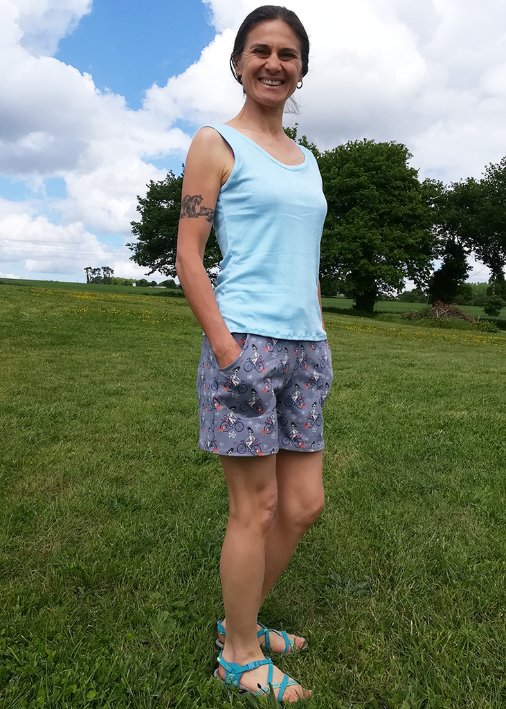 COCO the tank top - PDF sewing pattern
