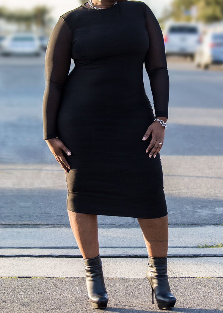 CREW the bodycon dress - PDF sewing pattern by Kommatia Patterns