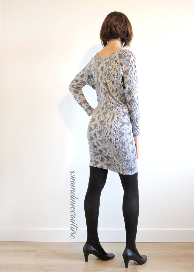 DR305 Batwing dress - PDF sewing pattern by Kommatia Patterns