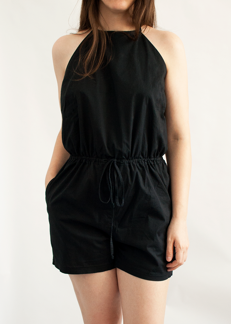 DOMINO the romper - PDF sewing pattern by Kommatia Patterns