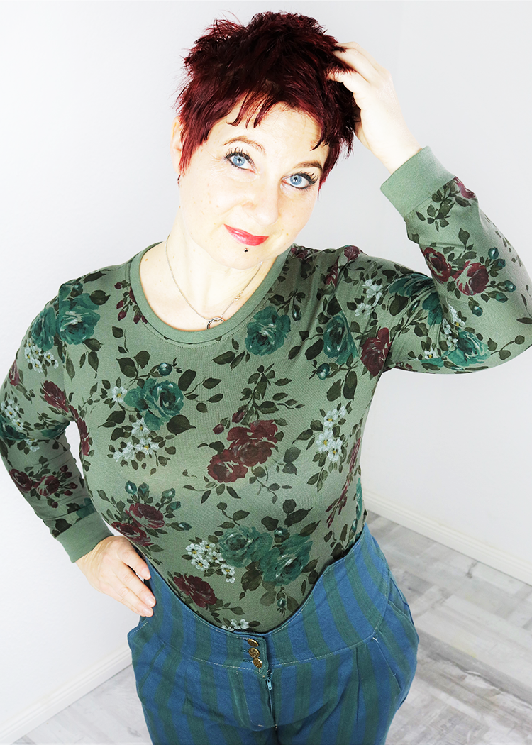 FERRI the bodysuit - PDF sewing pattern