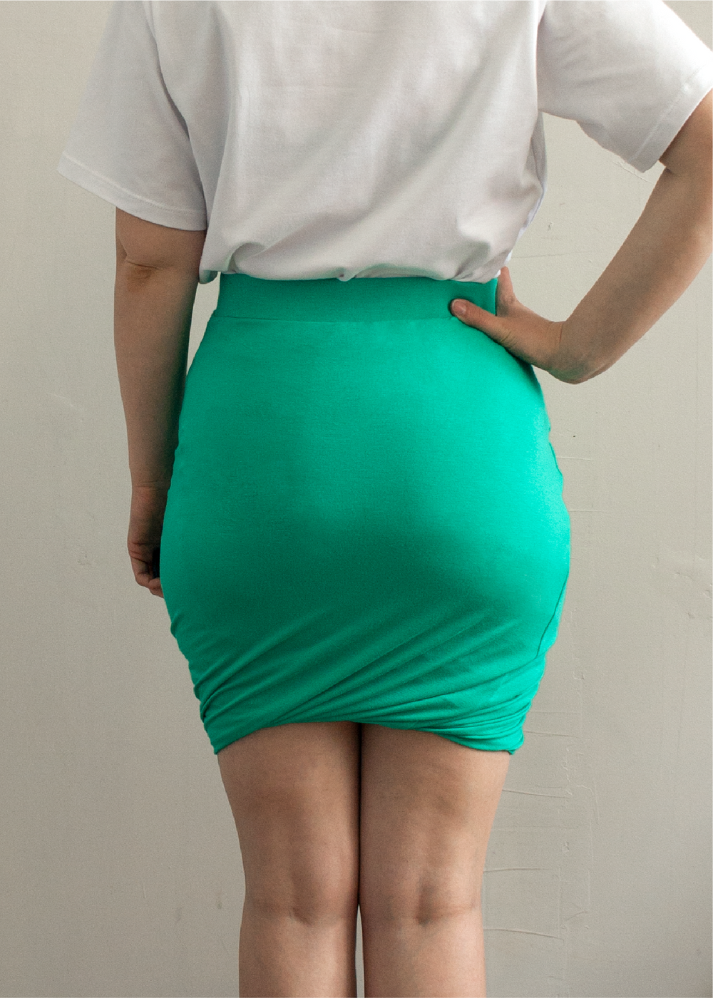 EUROPA the twisted skirt - PDF sewing pattern