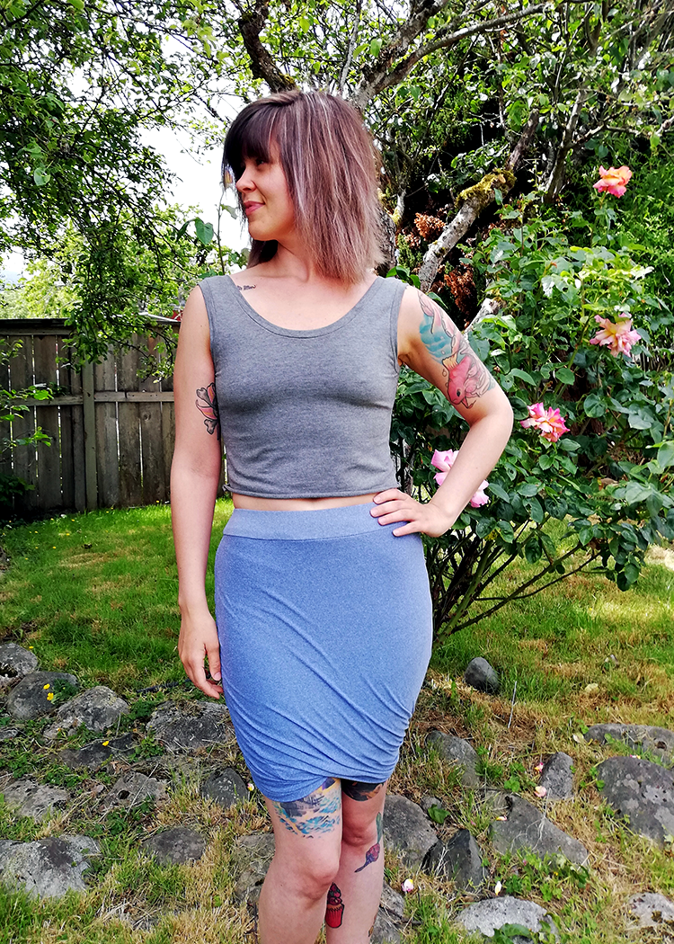 EUROPA the twisted skirt - PDF sewing pattern by Kommatia Patterns