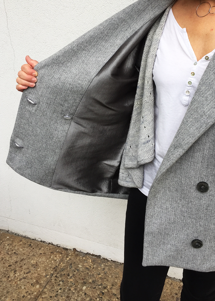 GRACE the lapel coat - PDF sewing pattern by Kommatia Patterns