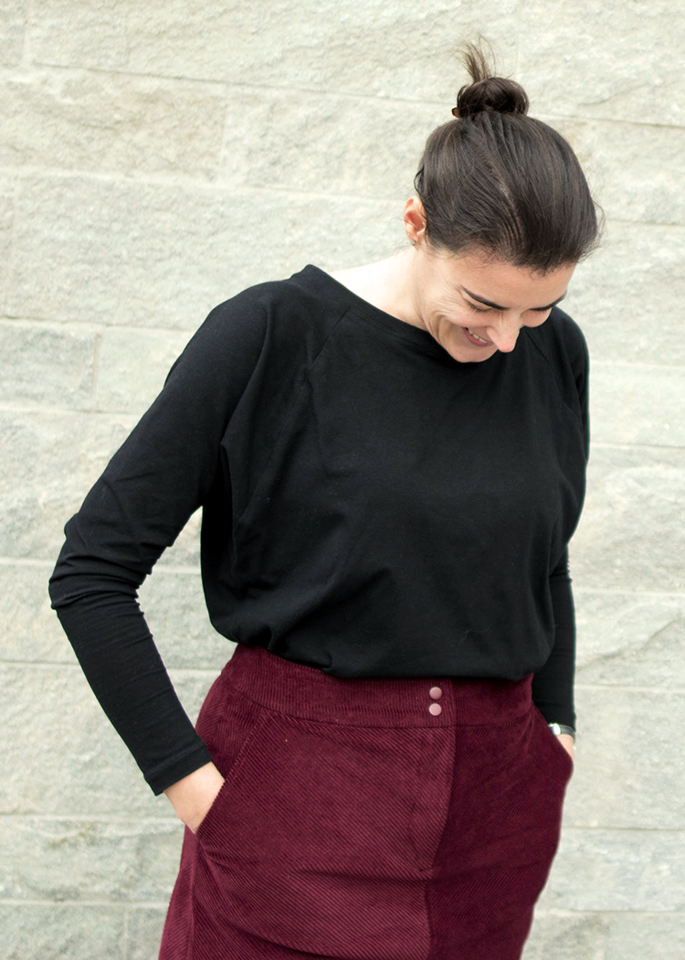 IMAGO the batwing top - PDF sewing pattern