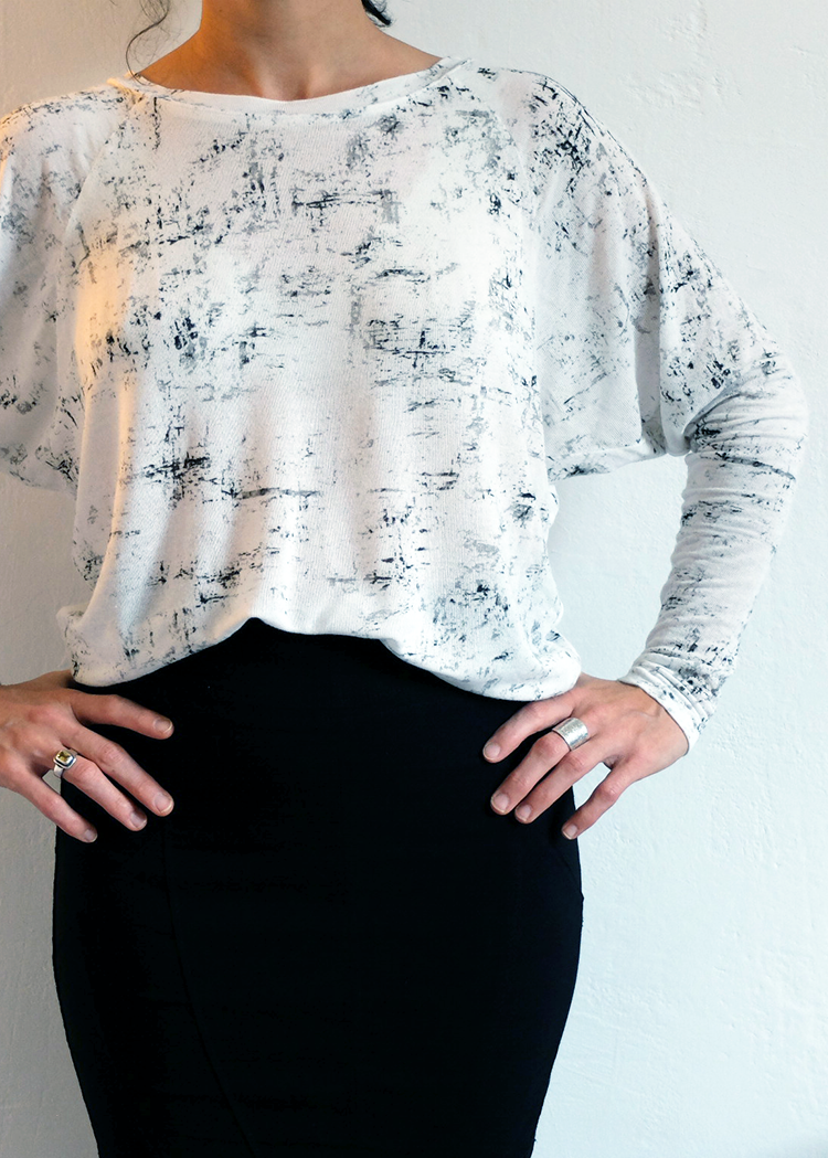 IMAGO the batwing top - PDF sewing pattern by Kommatia Patterns