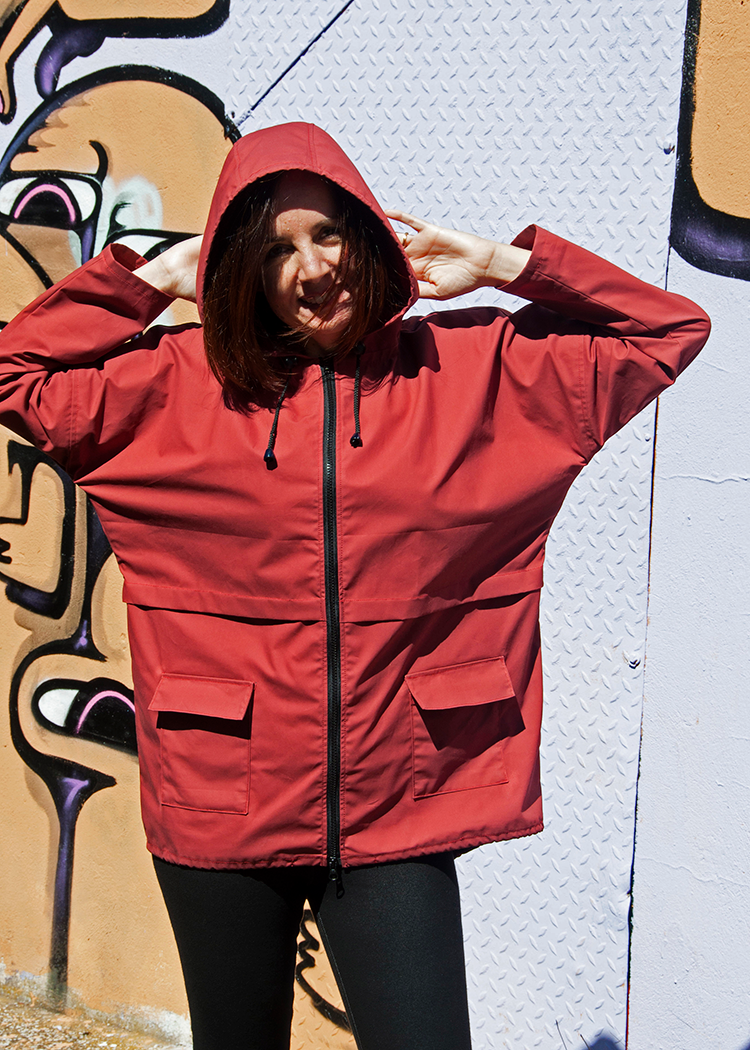 J006 Hooded parka jacket - PDF sewing pattern