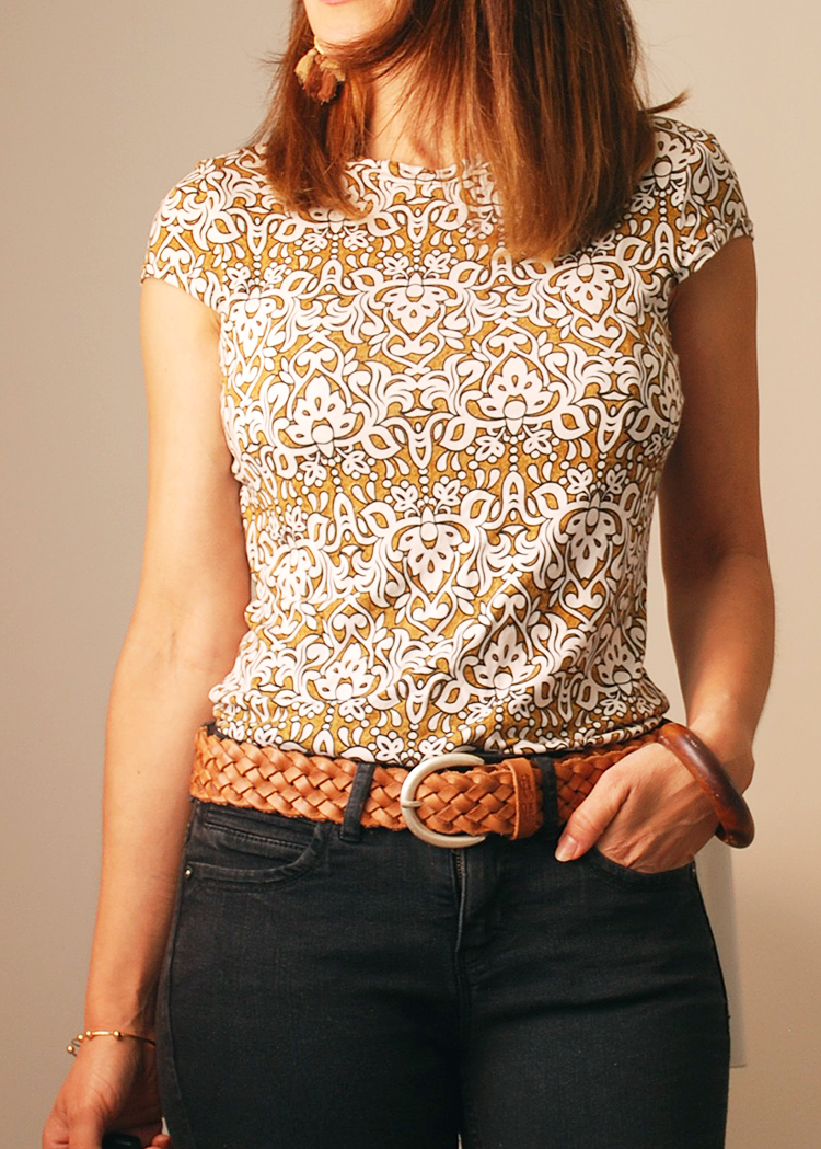 JUNO the cap sleeve top - PDF sewing pattern by Kommatia Patterns