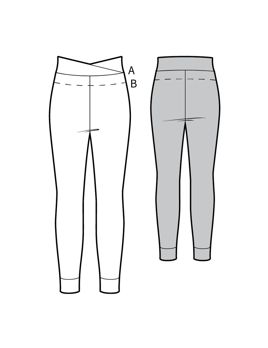 MOLLY the leggings - PDF sewing pattern by Kommatia Patterns