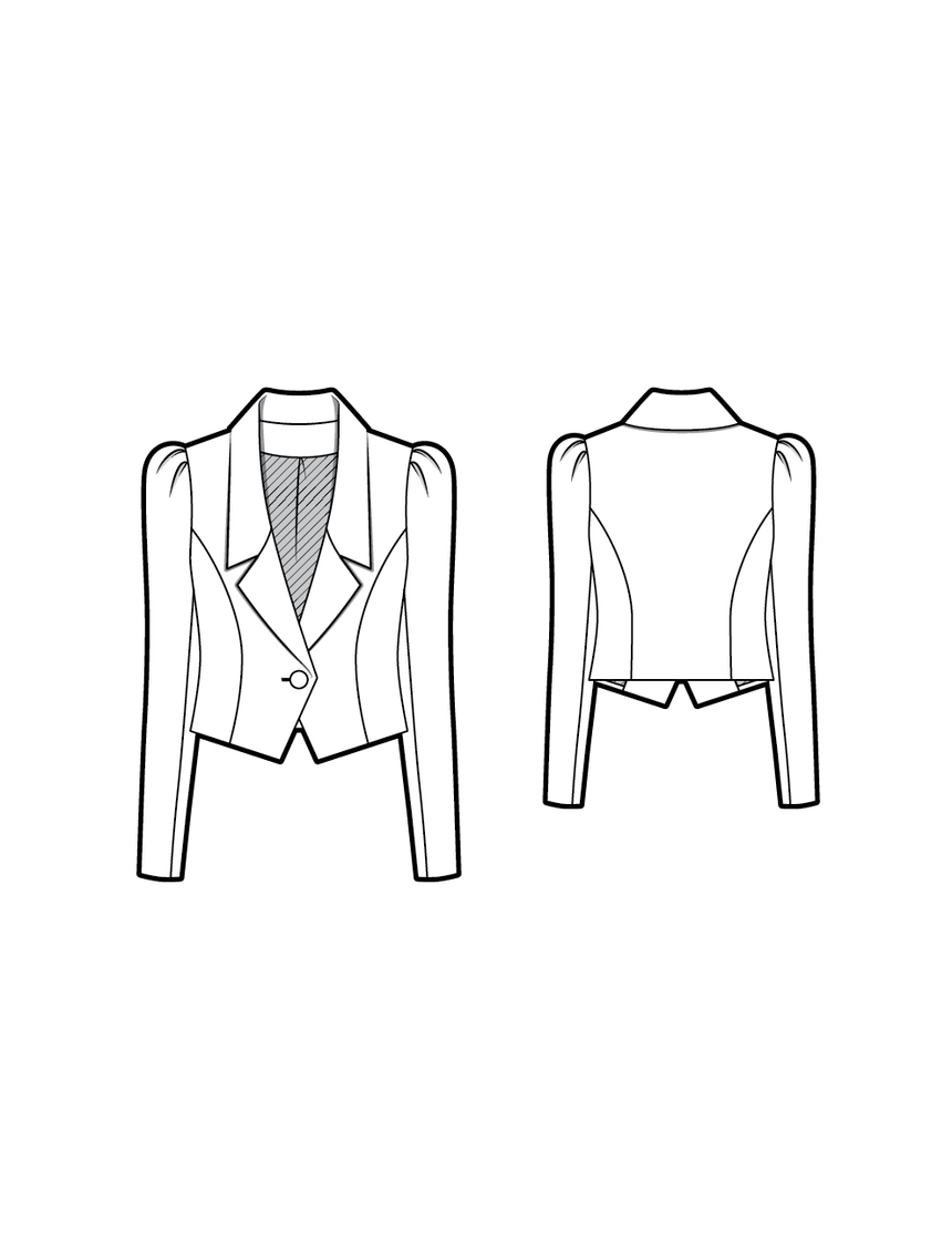 NICO the blazer - PDF sewing pattern