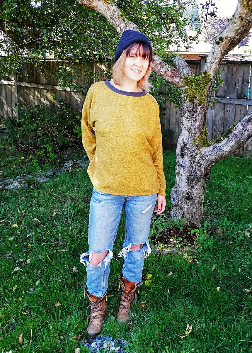 PIXIE the loose sweater - PDF sewing pattern by Kommatia Patterns