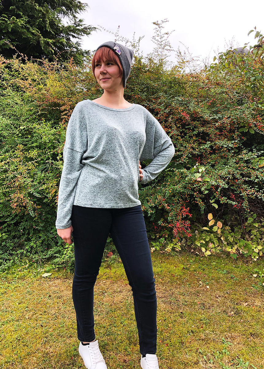 PIXIE the loose sweater - PDF sewing pattern