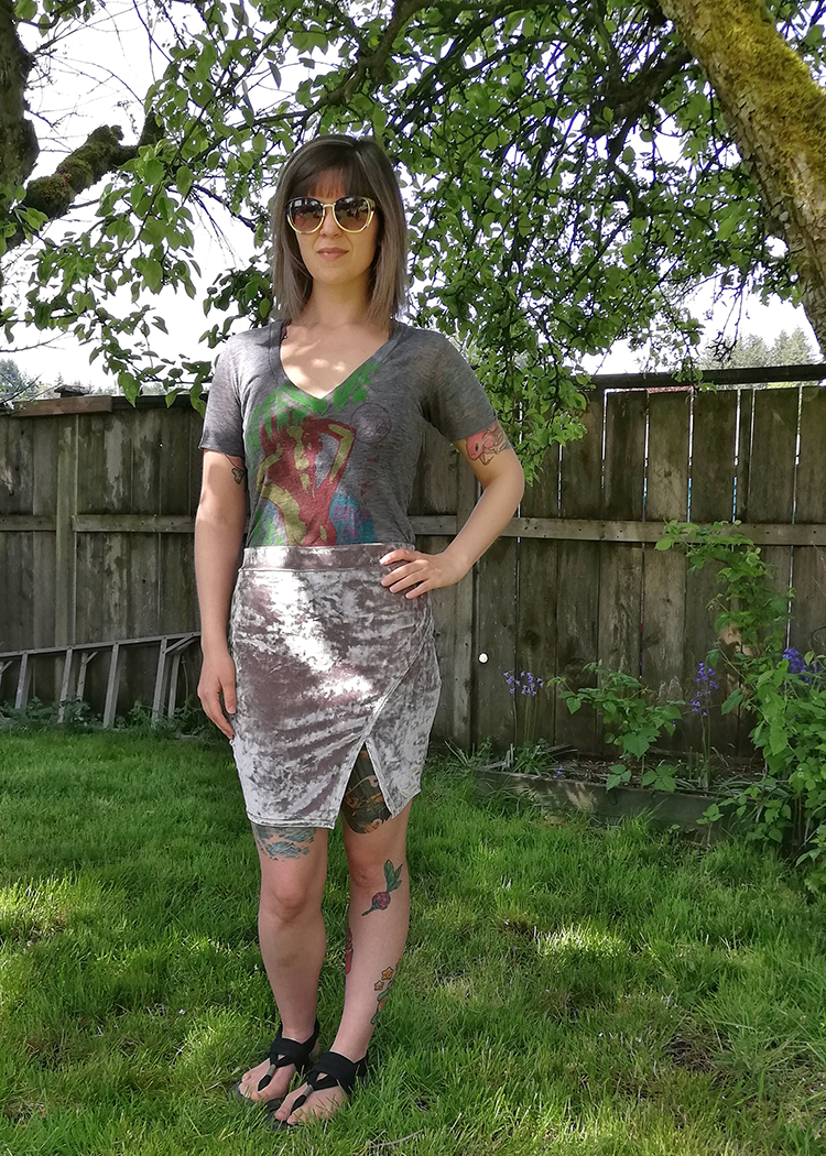 SAPHIRE the mini skirt - PDF sewing pattern by Kommatia Patterns