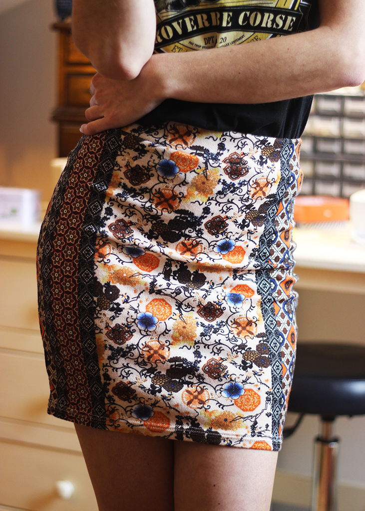 SLINKY bodycon skirt - PDF sewing pattern