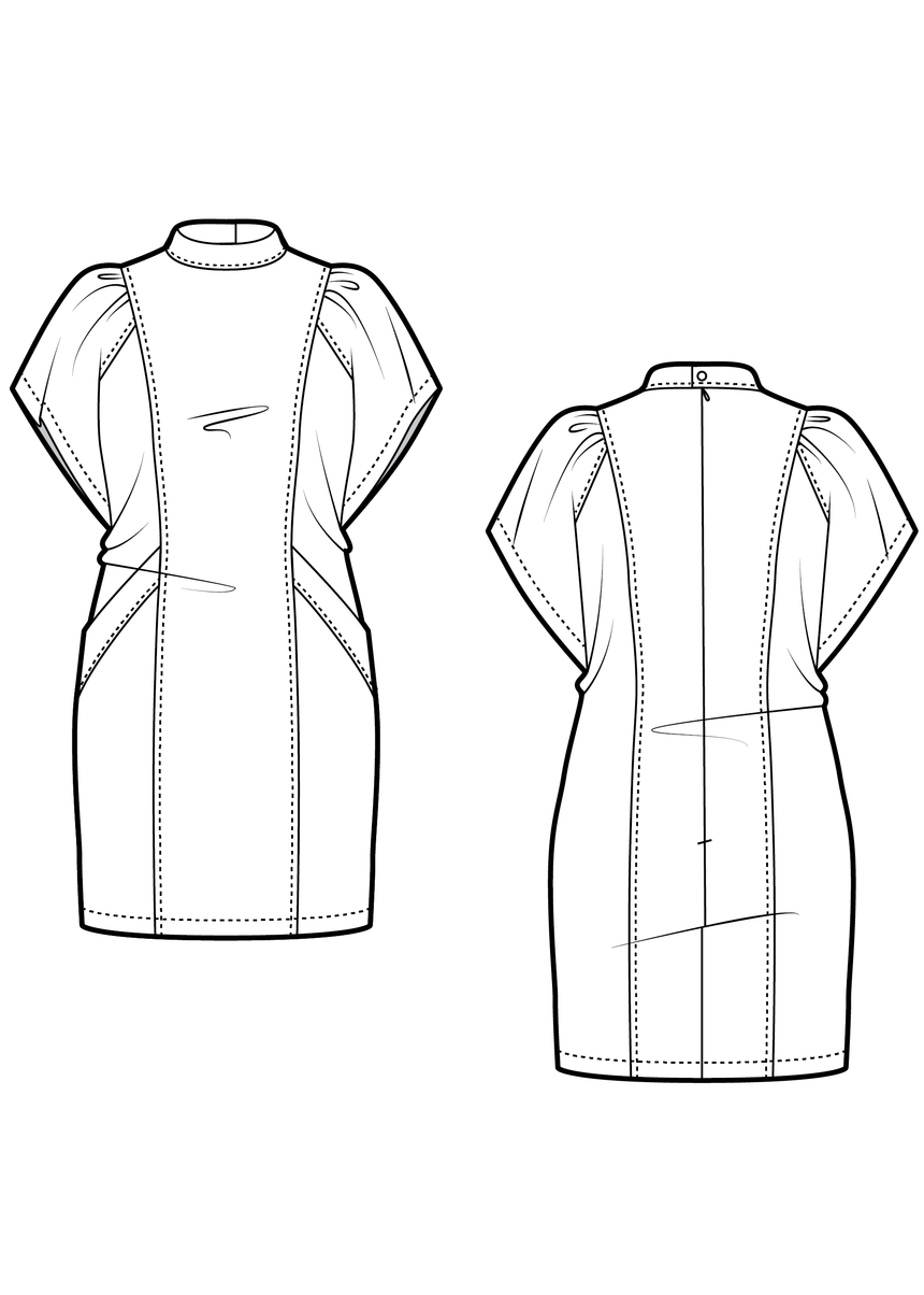 SUZY the dress - PDF sewing pattern