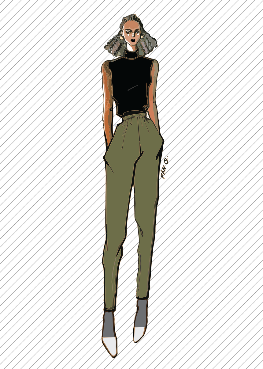 TR811 Jogger pants - PDF sewing pattern by Kommatia Patterns