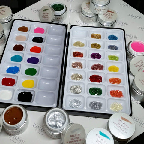 Akzentz Gel Art Palette - The Nail Hub