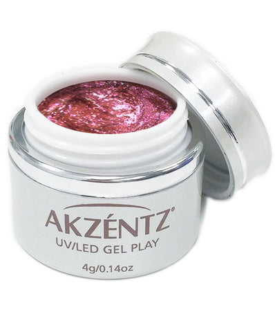 Akzentz Gel Play - Glitter Shifter Coral Reef - The Nail Hub