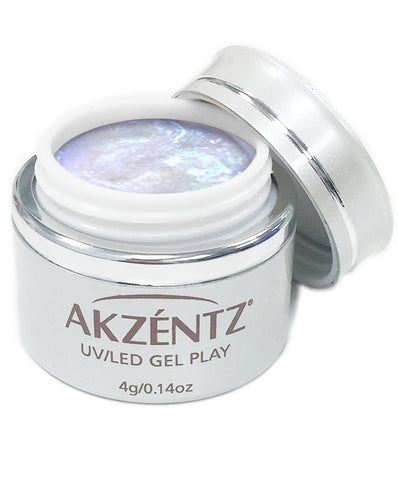 Akzentz Gel Play - Glitter Shifter Orca Blue - The Nail Hub