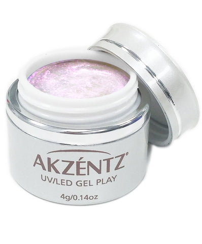 Akzentz Gel Play - Glitter Shifter Pink Cove - The Nail Hub
