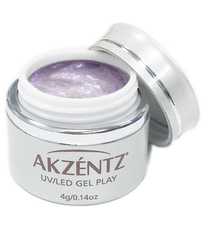 Akzentz Gel Play - Glitter Shifter Purple Siren - The Nail Hub