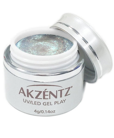 Akzentz Gel Play - Glitter Shifter Tidal Teal - The Nail Hub