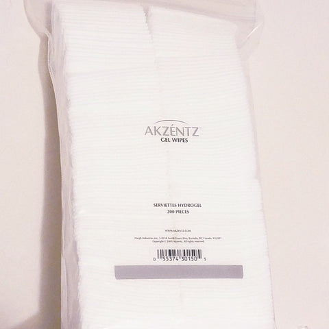 Akzentz Gel Wipes - The Nail Hub