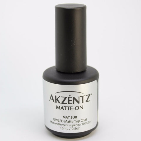 Akzentz Matte-On Gel Top Coat - The Nail Hub