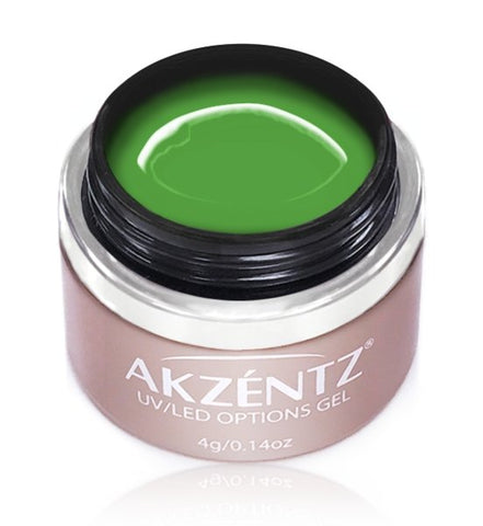Akzentz Options Color - Bright Lime Twist - The Nail Hub
