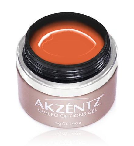 Akzentz Options Color - Bright Orange Fix - The Nail Hub