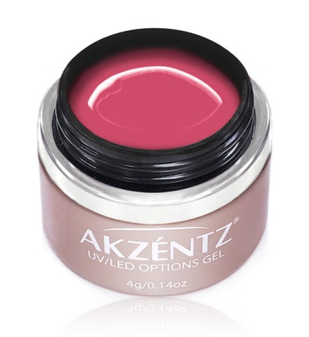 Akzentz Options Color - Coral Pink - The Nail Hub