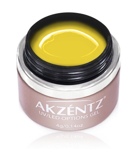 Akzentz Options Color - Gel Art Clear Yellow - The Nail Hub