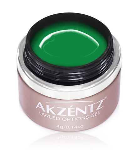 Akzentz Options Color - Gel Art Creamy Green - The Nail Hub