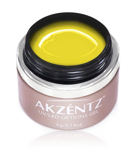 Akzentz Options Color - Gel Art Yellow - The Nail Hub