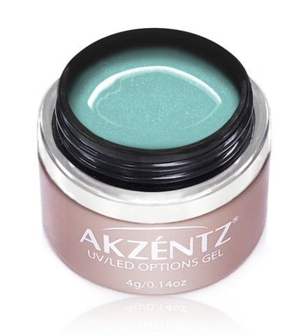 Akzentz Options Color - Ice Turquoise - The Nail Hub