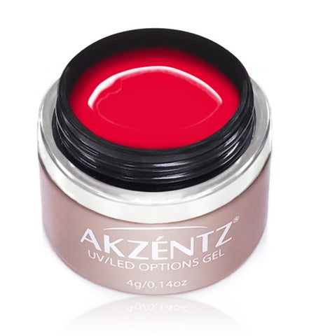 Akzentz Options Color - Imperial Red - The Nail Hub